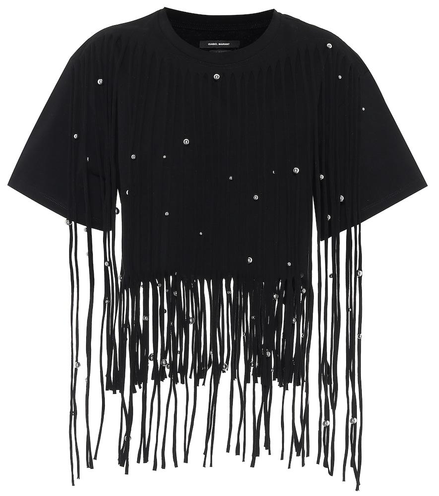 T-shirt Bianea à franges - Isabel Marant - Modalova