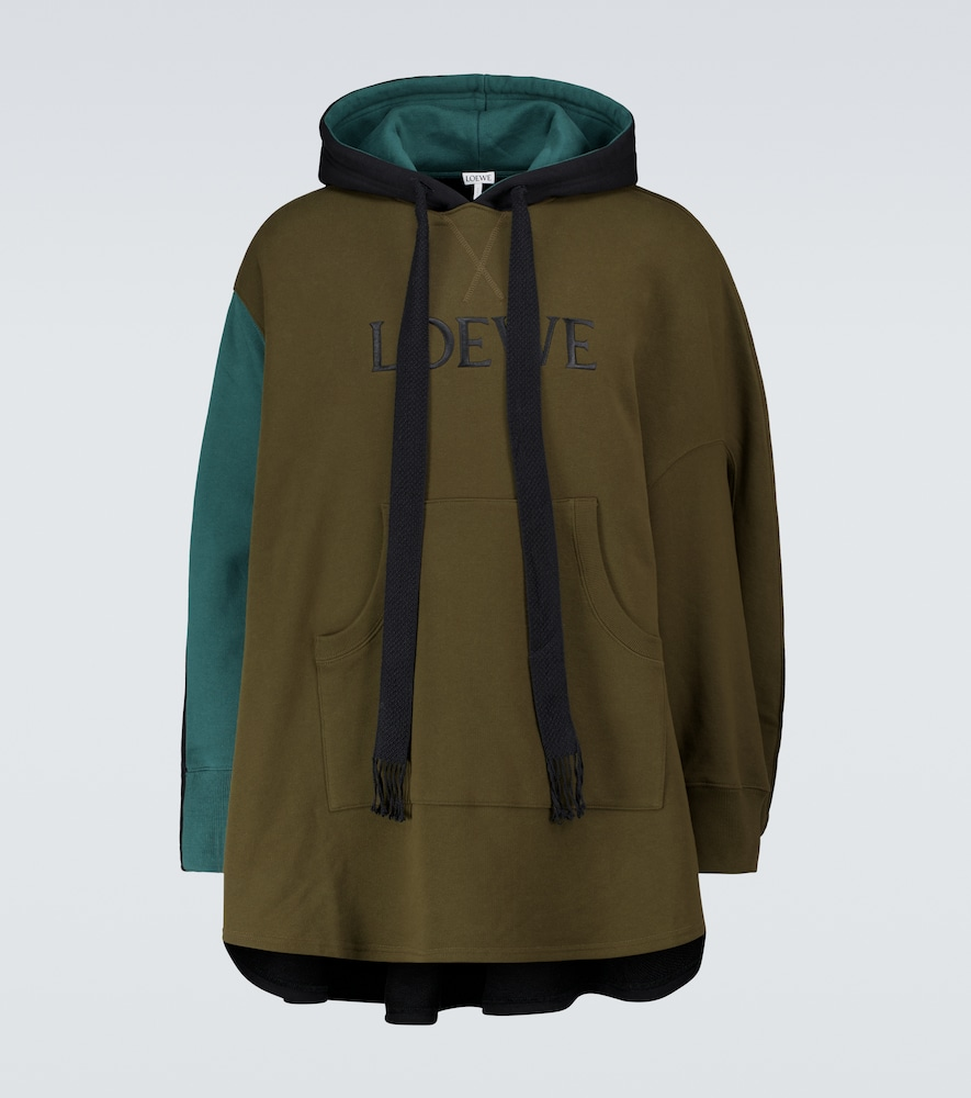 LOEWE CIRCLE OVERSIZED HOODED SWEATSHIRT