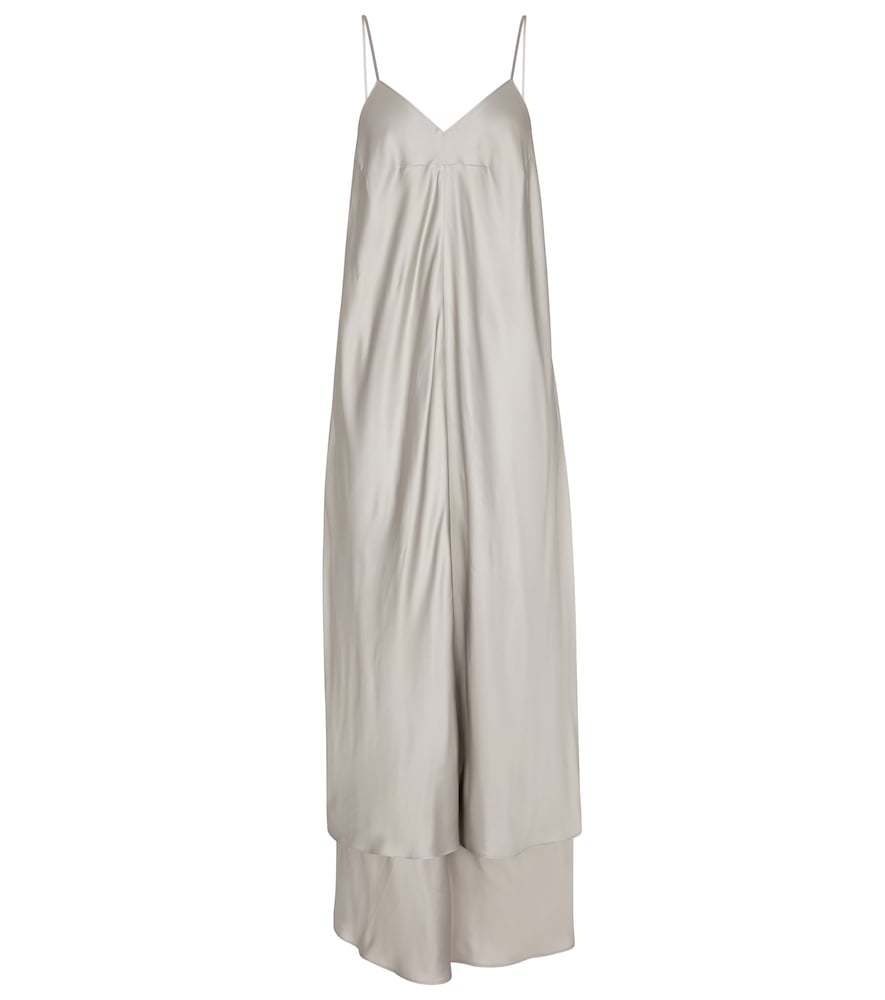 Mm6 Maison Margiela SATIN MAXI DRESS