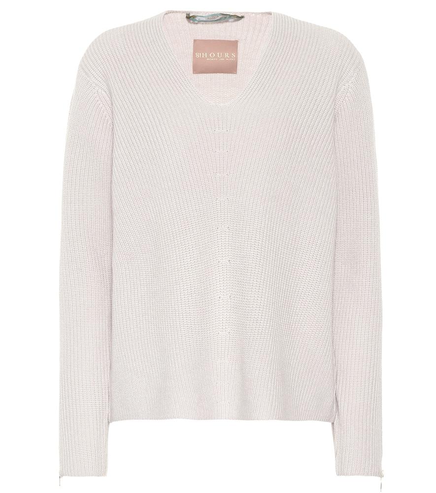 81 HOURS Takuma Wool Sweater in Grey