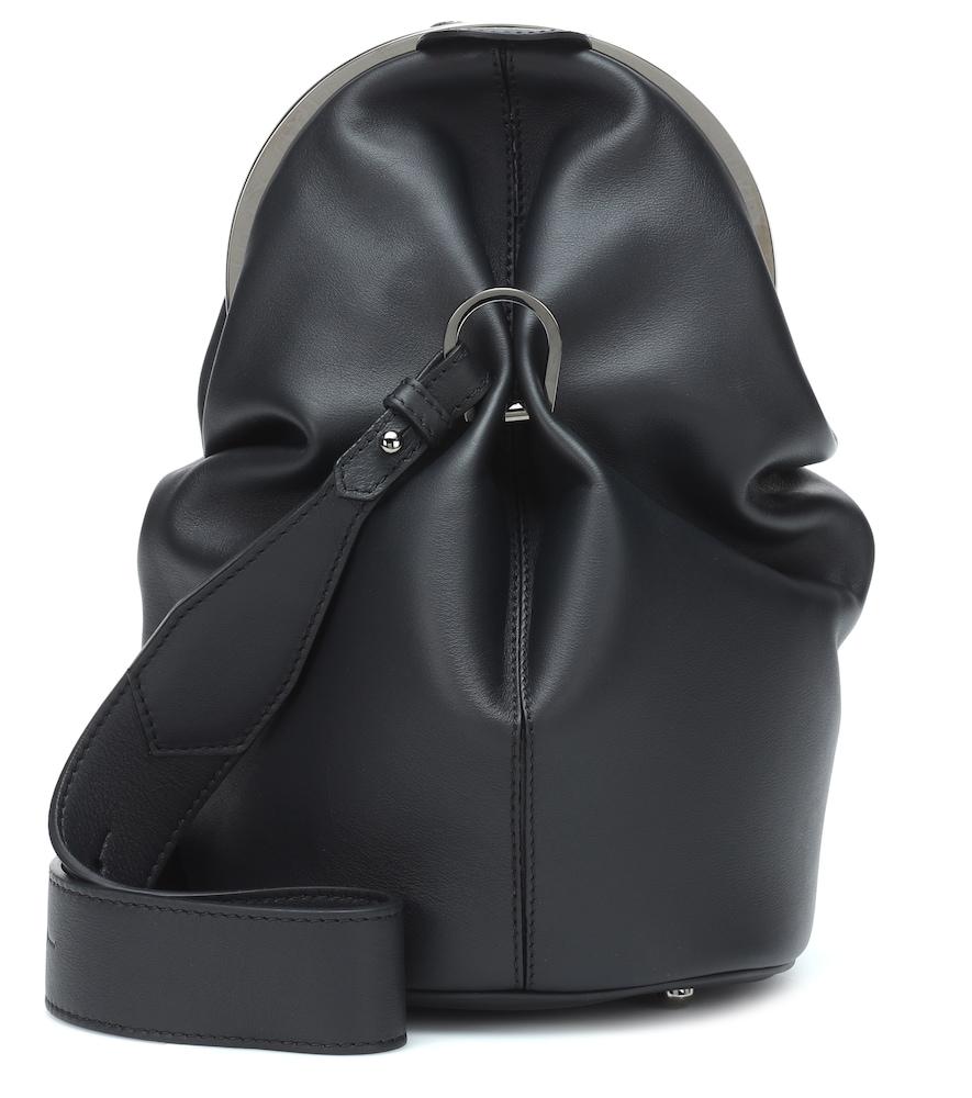 MAX MARA | Cecile leather shoulder bag | Goxip