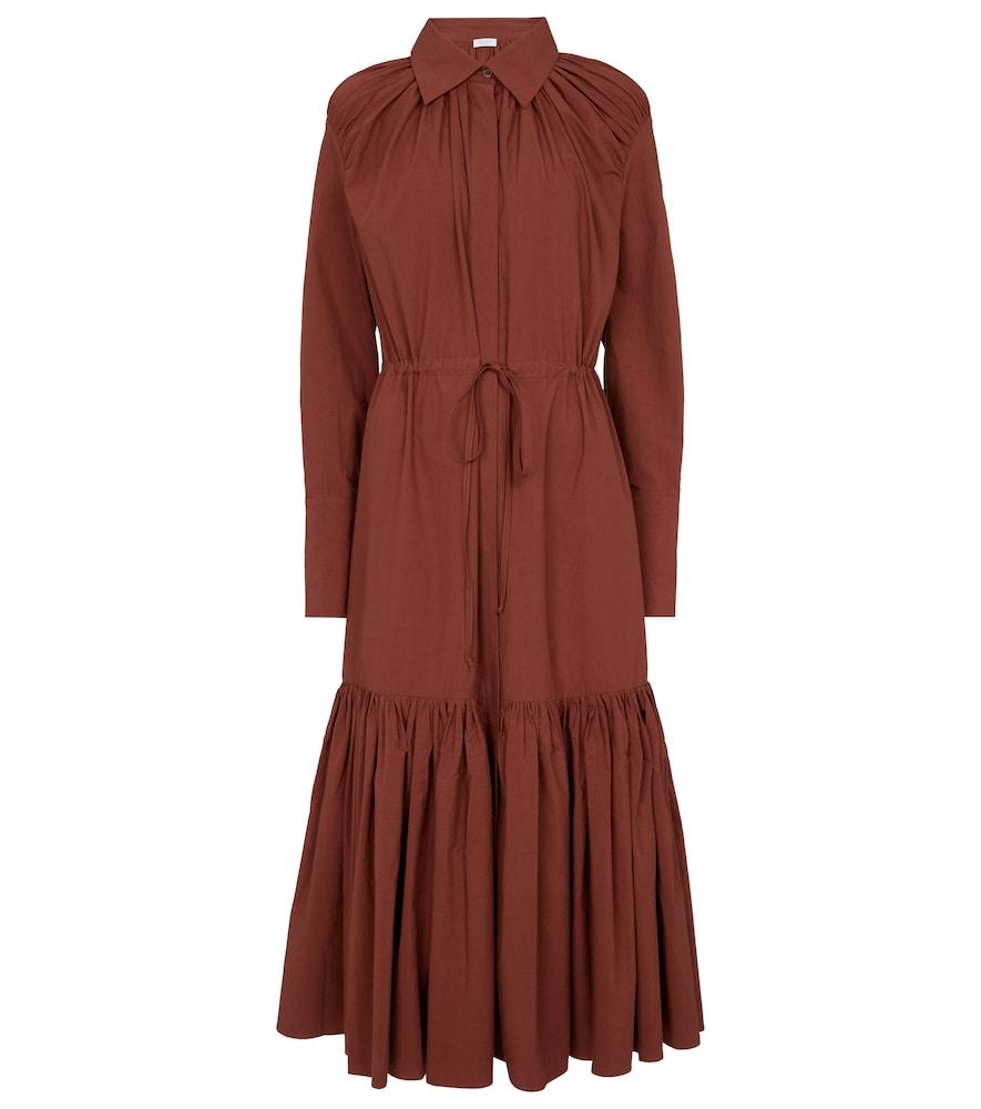 Samira cotton shirt dress