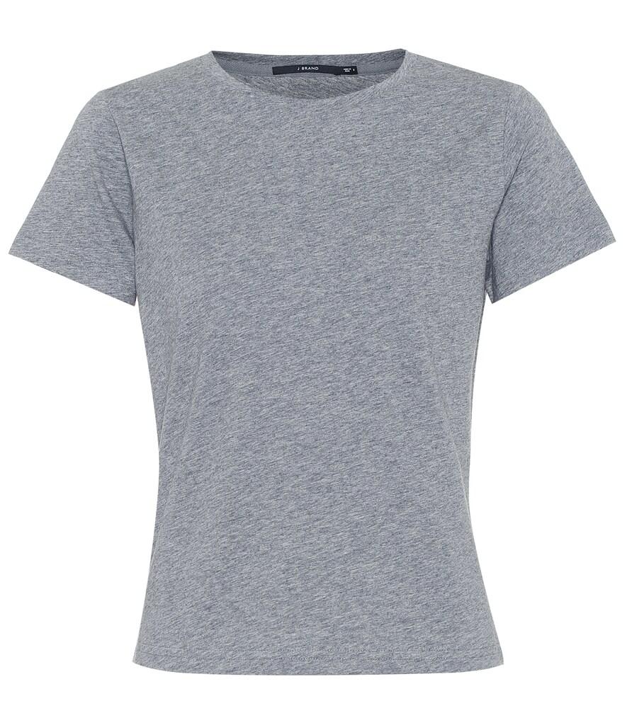 J BRAND | 811 Cotton T-Shirt | Goxip
