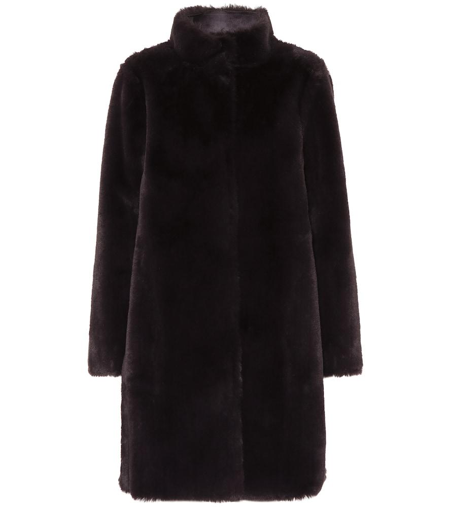 Velvet Coats MINA REVERSIBLE FAUX-FUR COAT