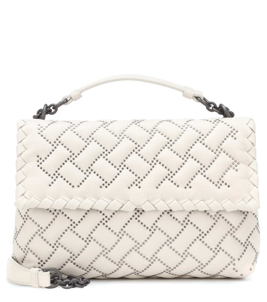 Olimpia Small leather shoulder bag