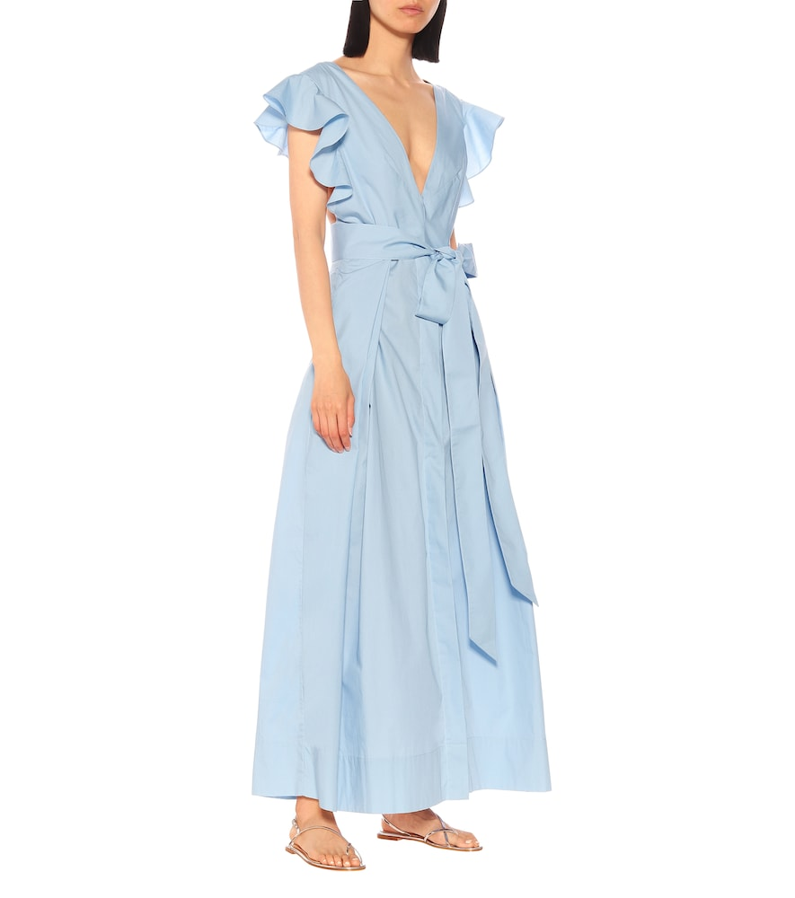 Poet By The Sea cotton maxi dress by Kalita
