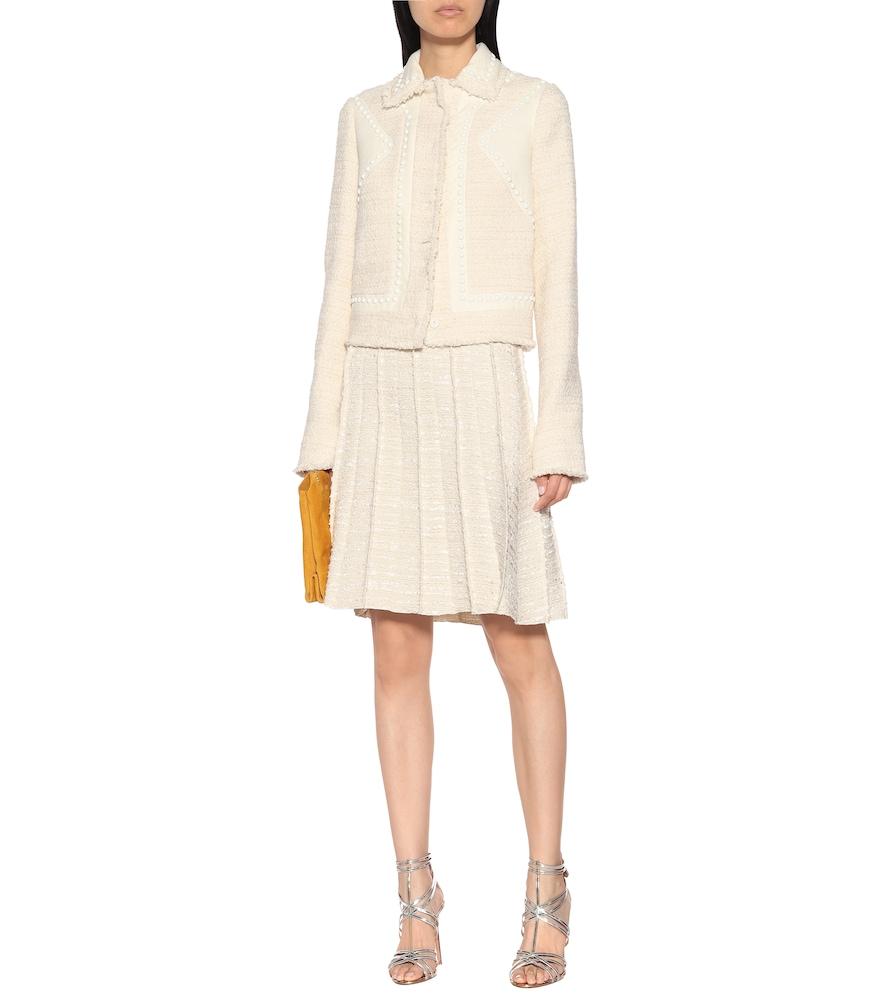 Studded cotton-blend jacket by Giambattista Valli