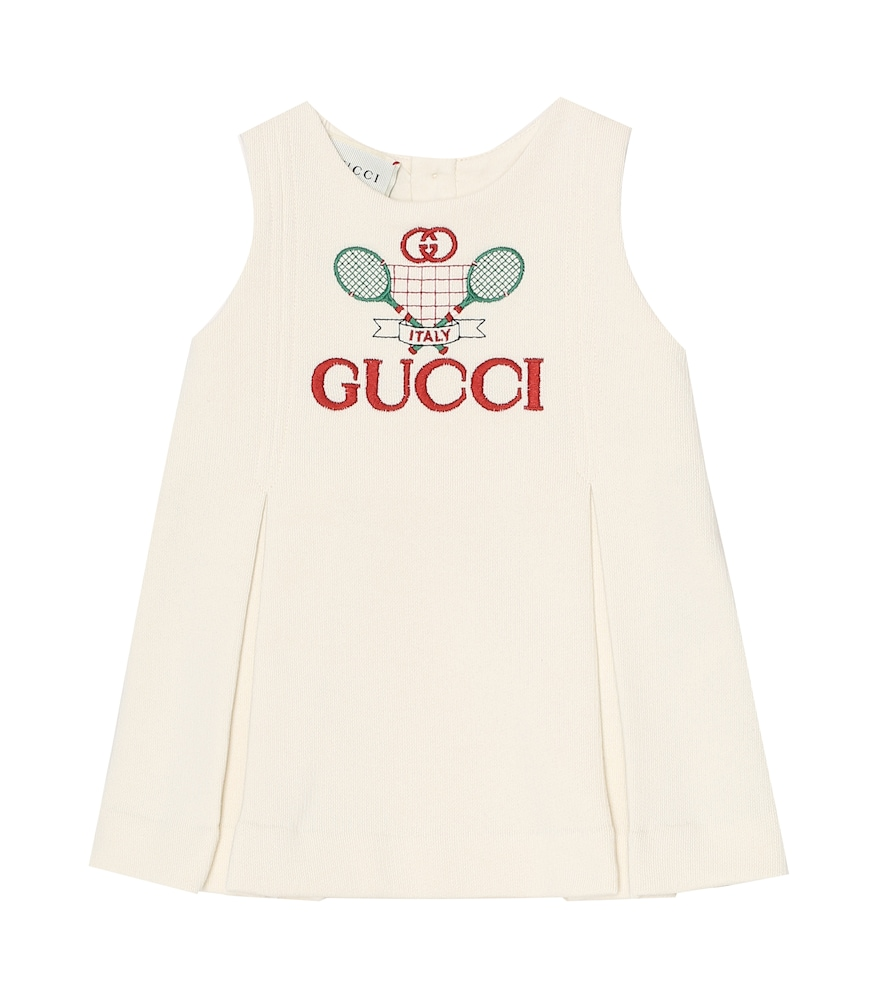 Gucci Cottons BABY COTTON DRESS