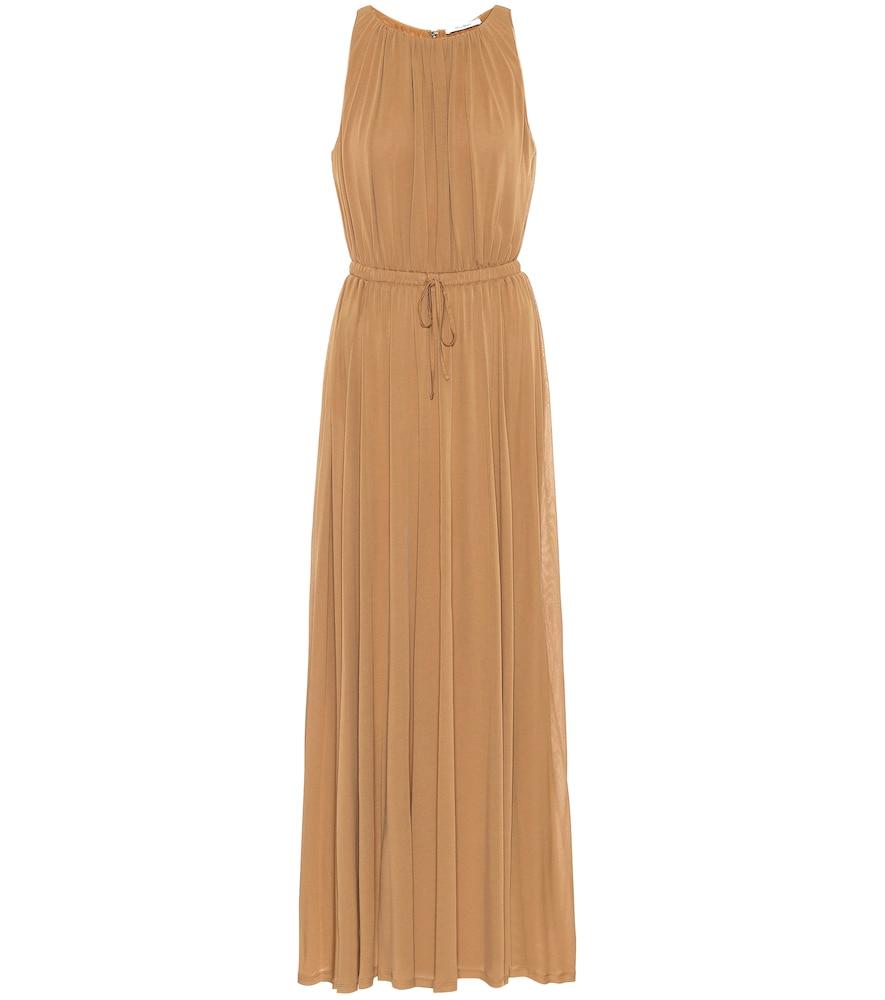 Astrid sable-jersey dress by Max Mara