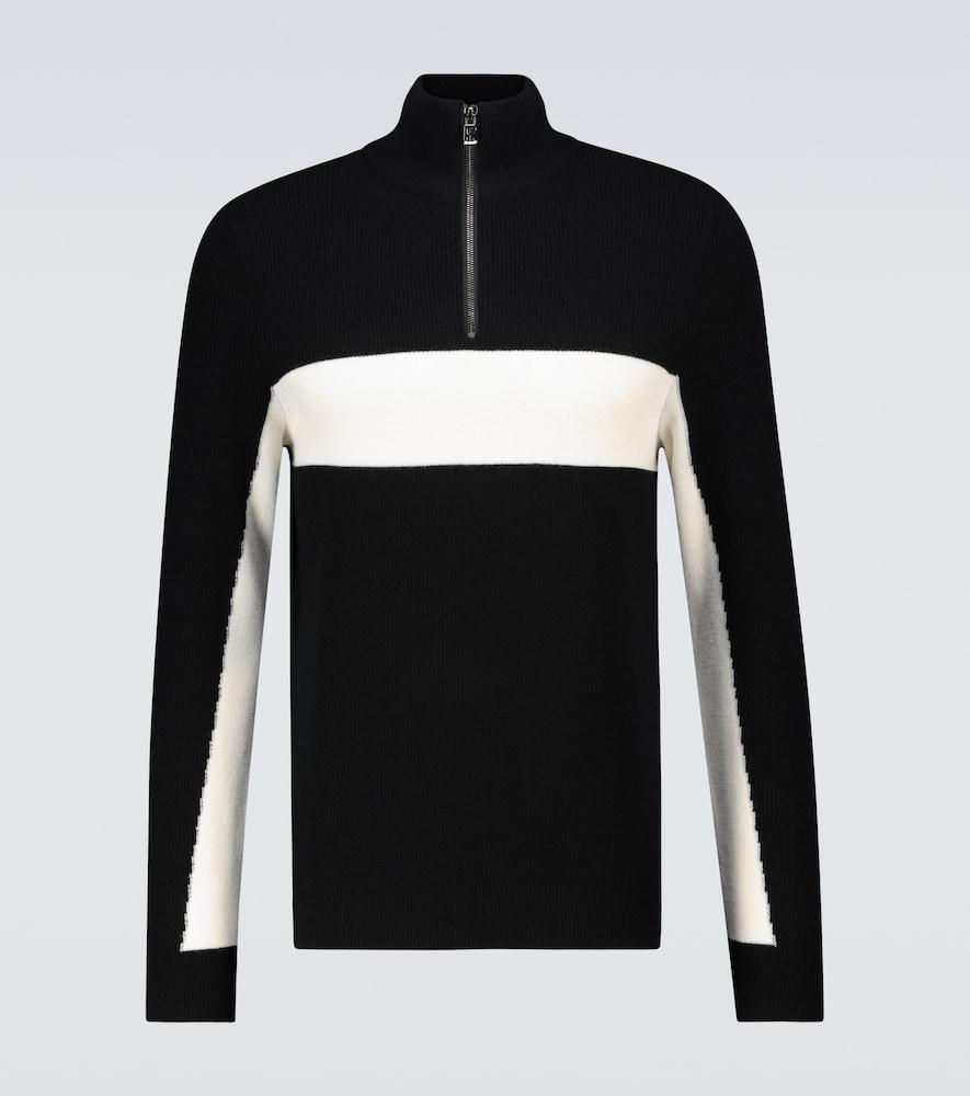 Penke half-zipped pullover sweater