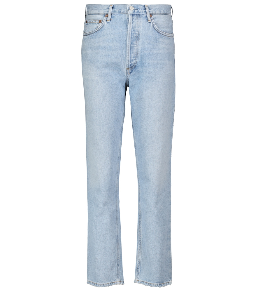 Fen high-rise straight jeans