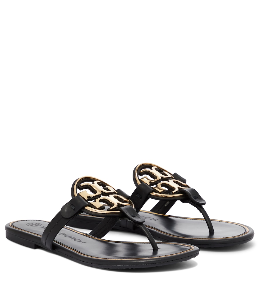 36d6ed491e6f46 TORY BURCH MILLER LEATHER SANDALS
