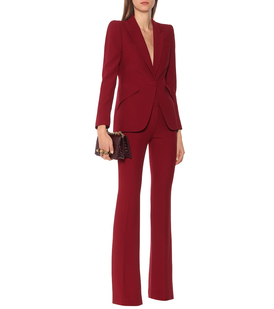 Exclusive to Mytheresa - Crêpe blazer by Alexander McQueen