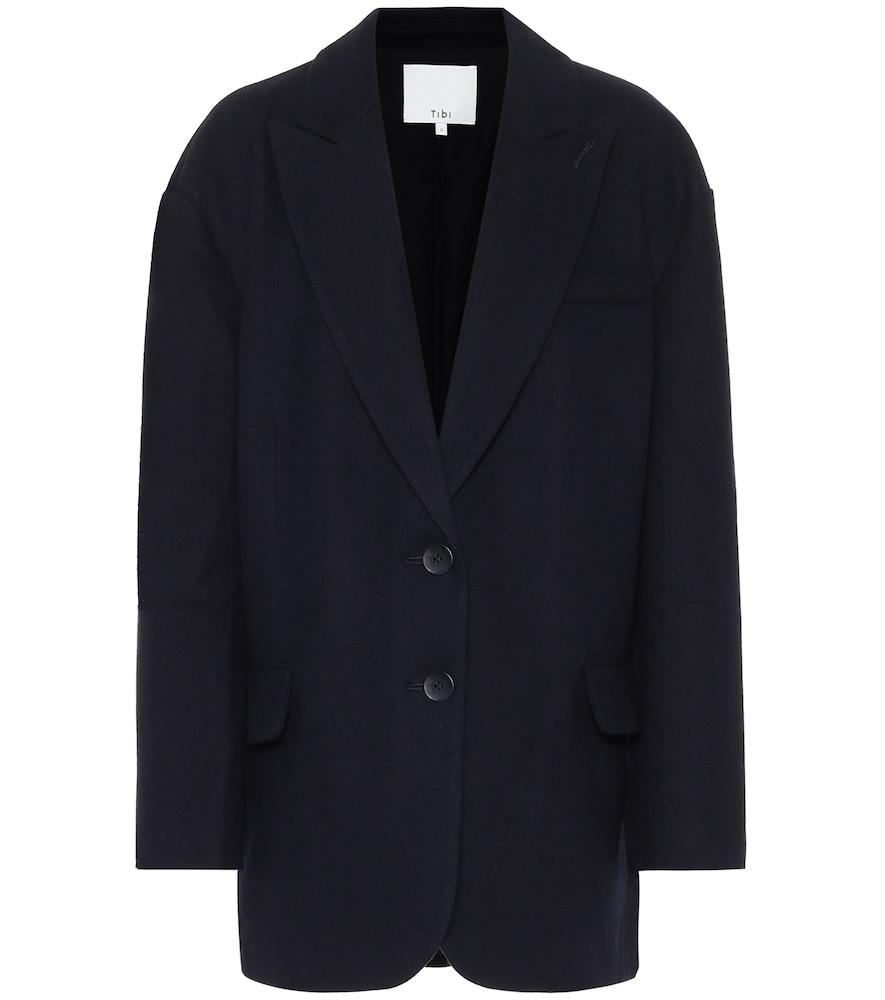 Liam wool-blend blazer by Tibi