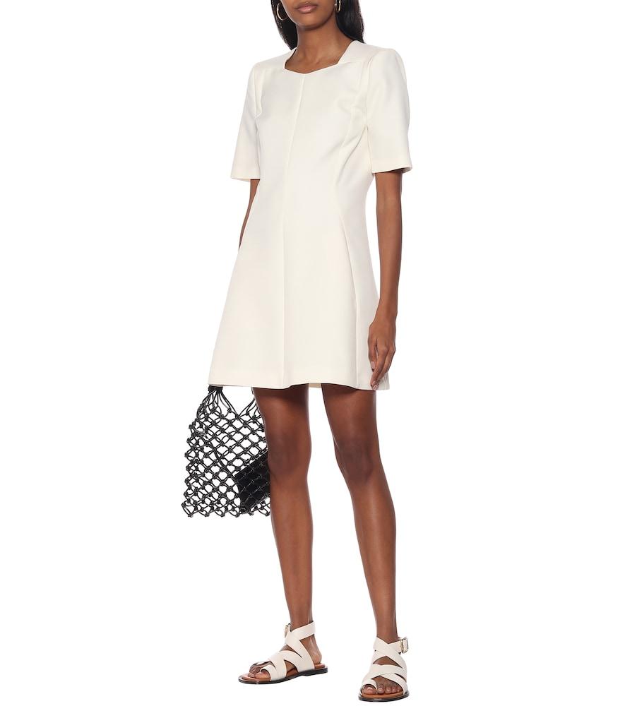 Mercato wool-blend minidress by Stella McCartney