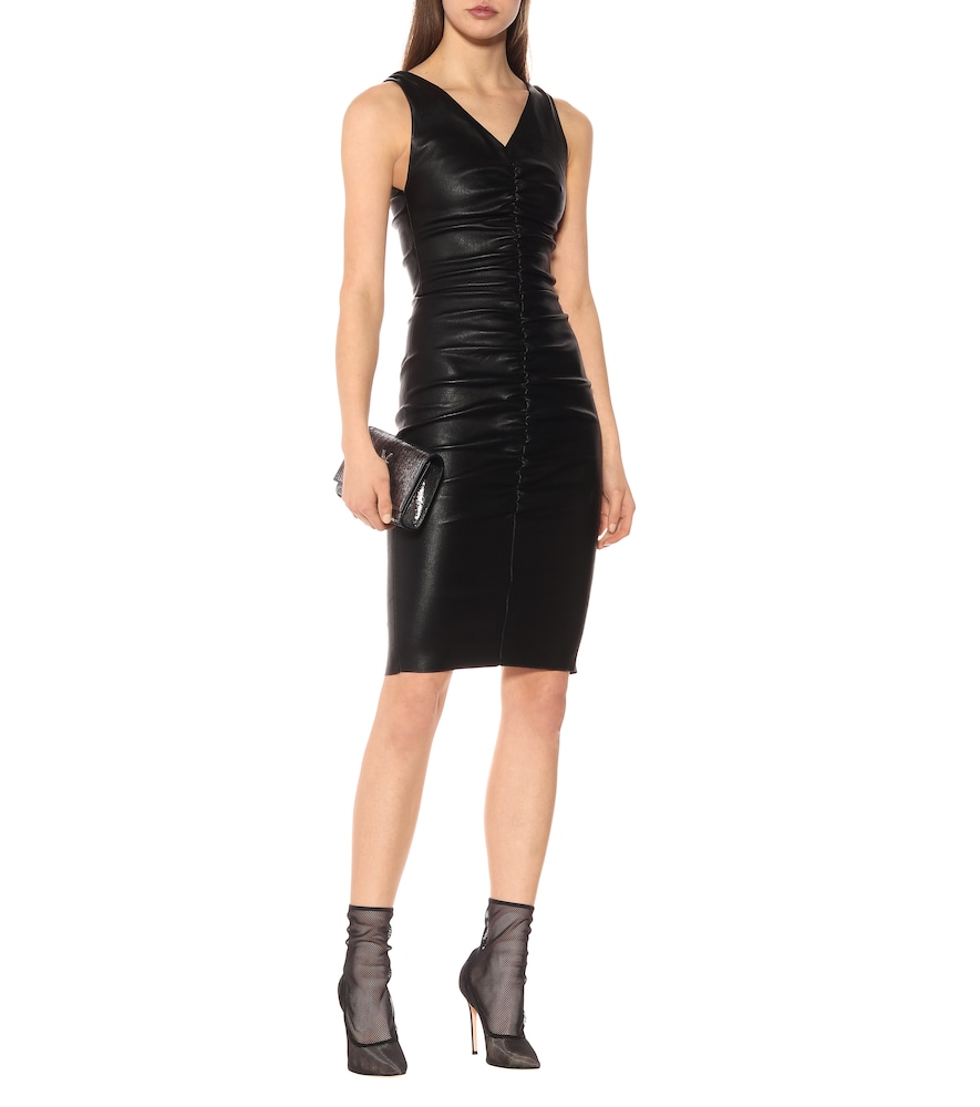 Lala leather dress by Stouls