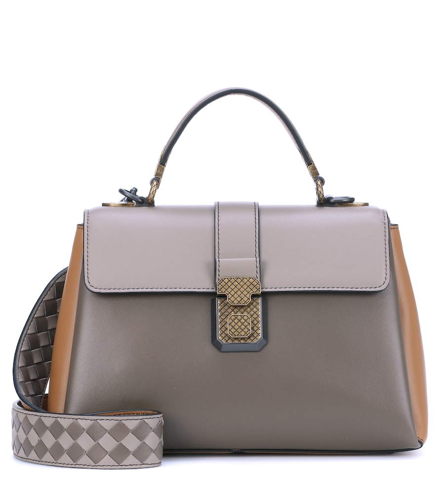 Small Piazza leather shoulder bag