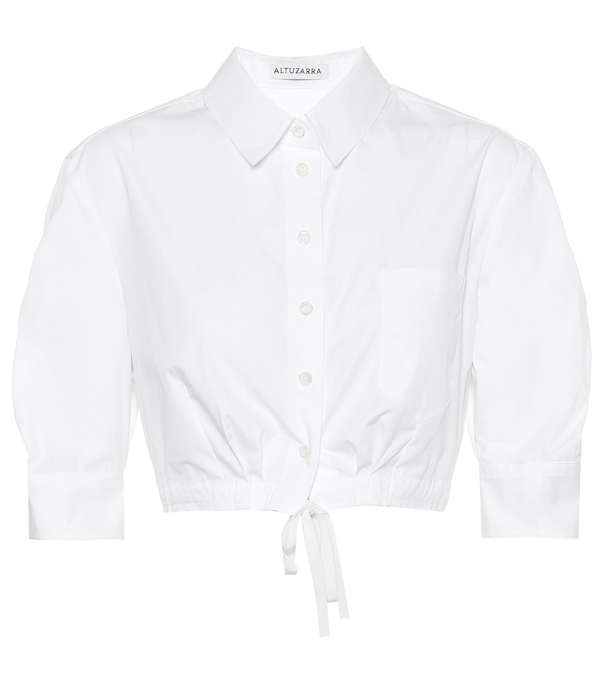 Altuzarra T-shirts ROSA COTTON SHIRT