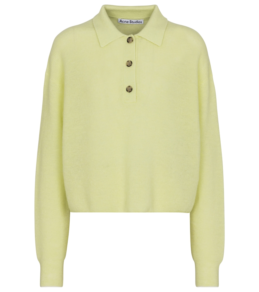 Acne Studios ALPACA AND WOOL-BLEND SWEATER