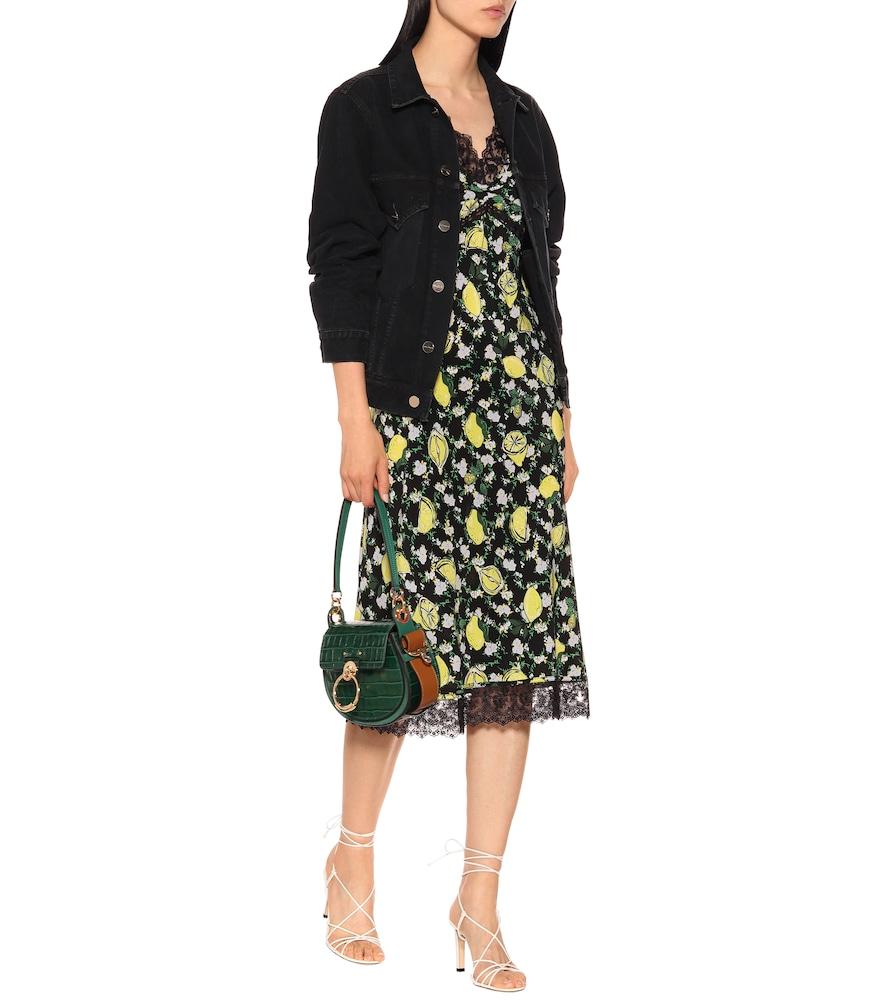 Issey silk midi dress by Diane von Furstenberg