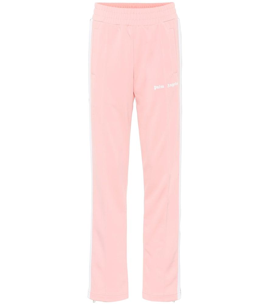 Pantalon de survêtement en coton à logo - Palm Angels - Modalova