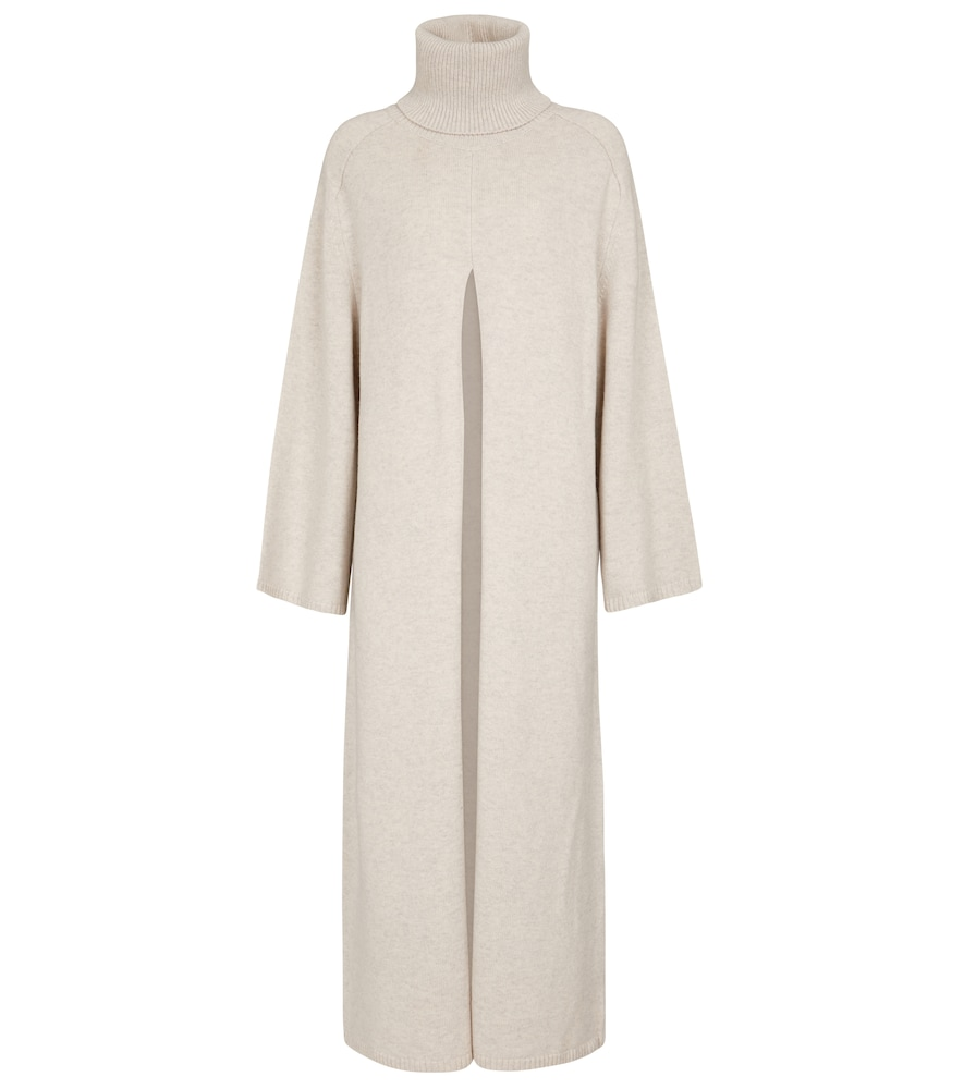 Pull long Viviane en laine mérinos