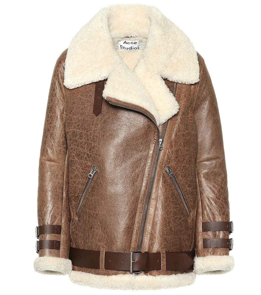 Velocite Shearling Jacket, Brown