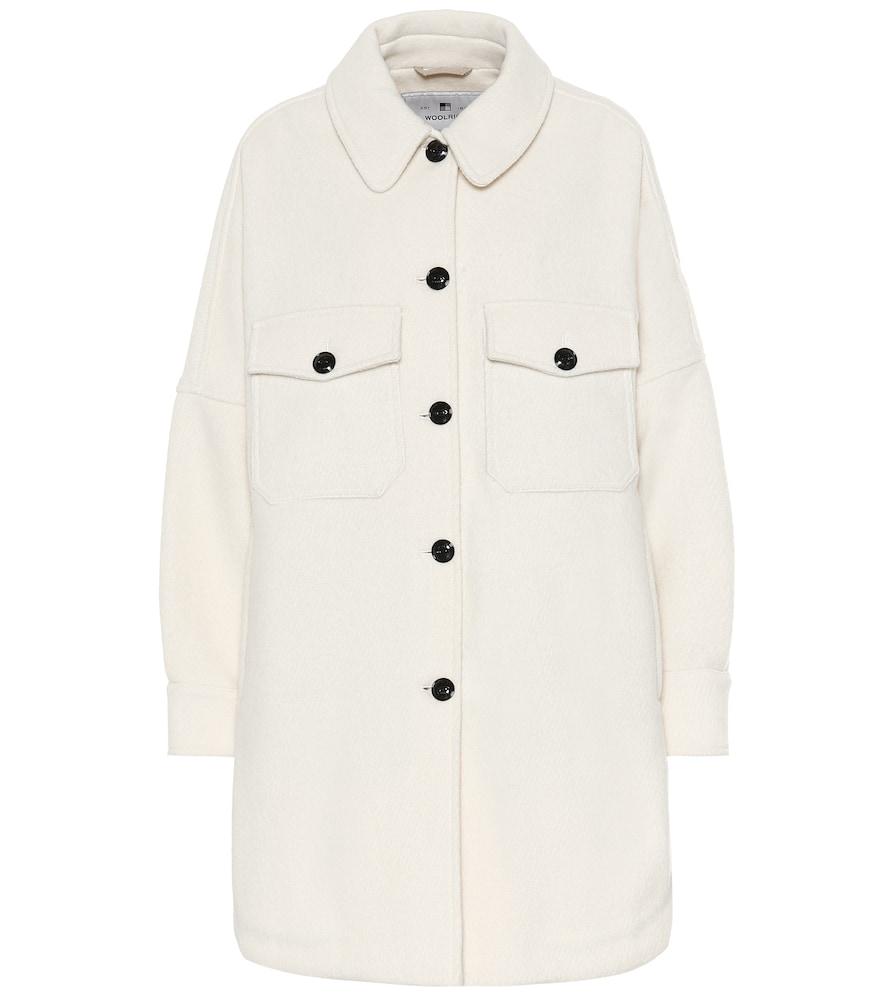 W's Chamois wool-blend jacket by Woolrich
