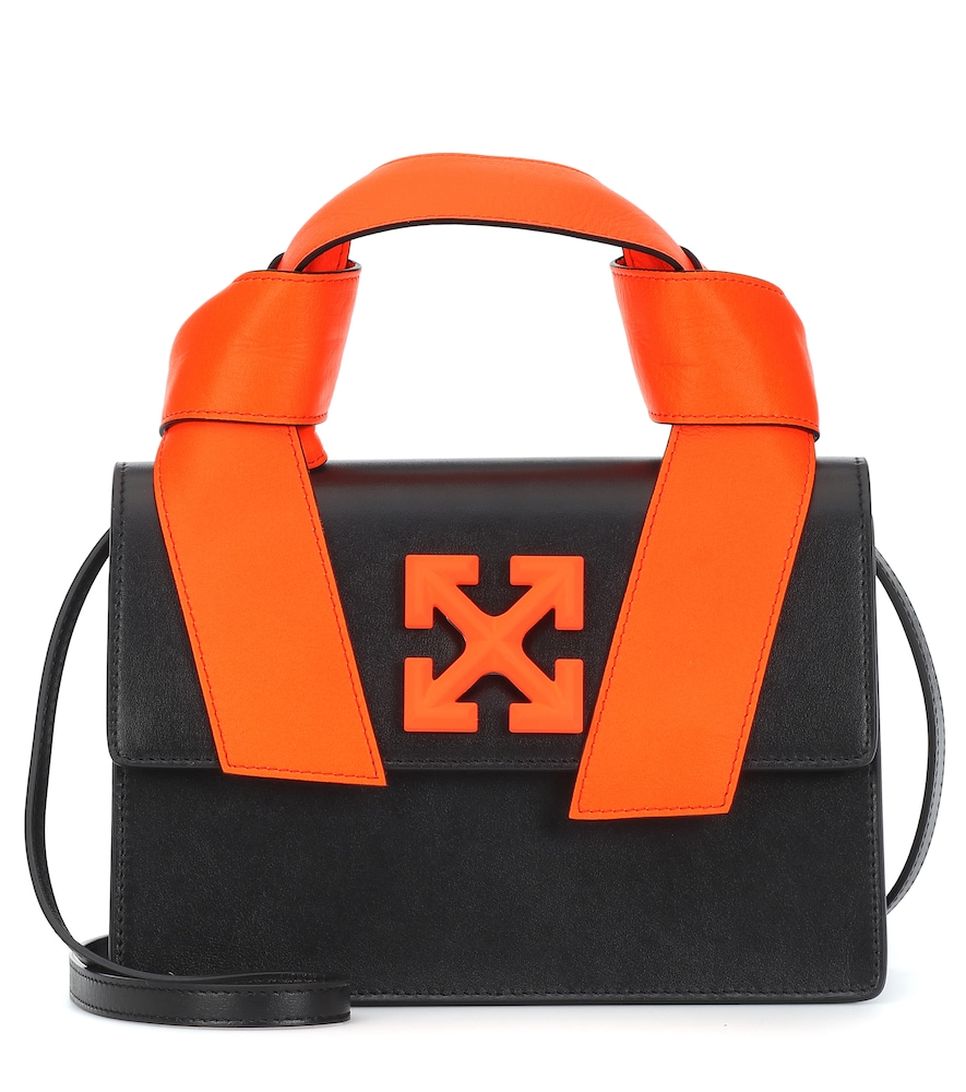 Off-White Leathers JITNEY 1.4 LEATHER TOTE