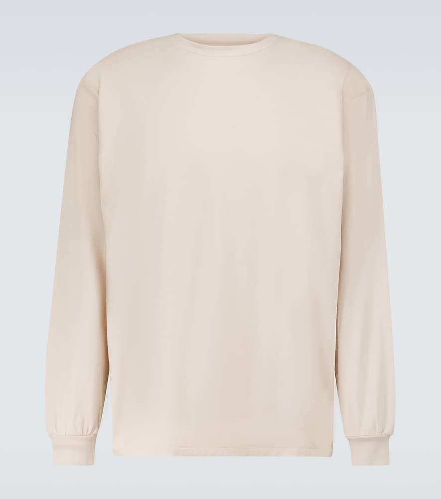 Luster Plaiting long-sleeved T-shirt