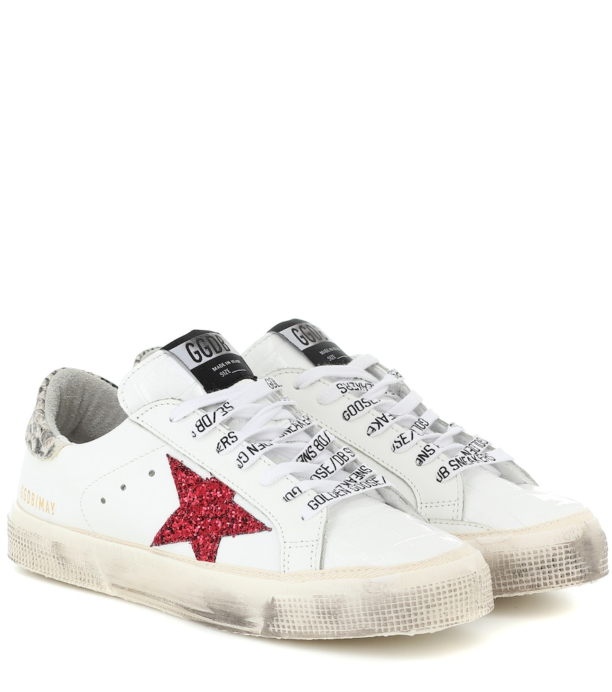 May leather sneakers