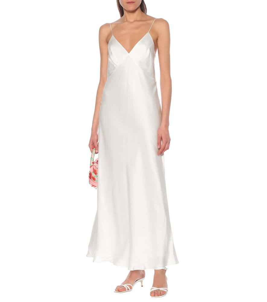 Exclusive to Mytheresa - Jeanette silk maxi dress by Bernadette
