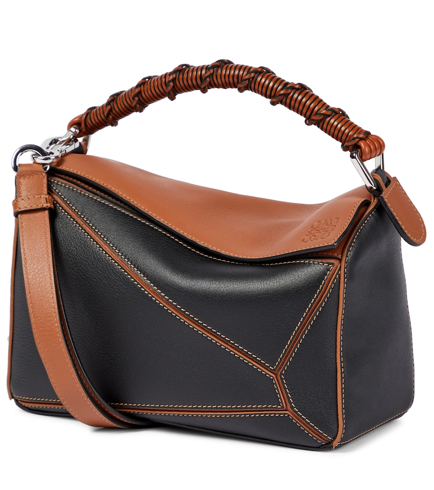 Puzzle Craft Small leather shoulder bag