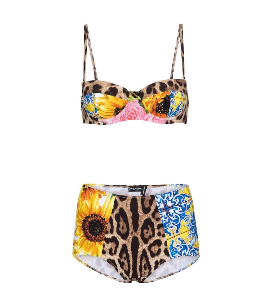 Dolce & Gabbana Bikinis PRINTED BIKINI