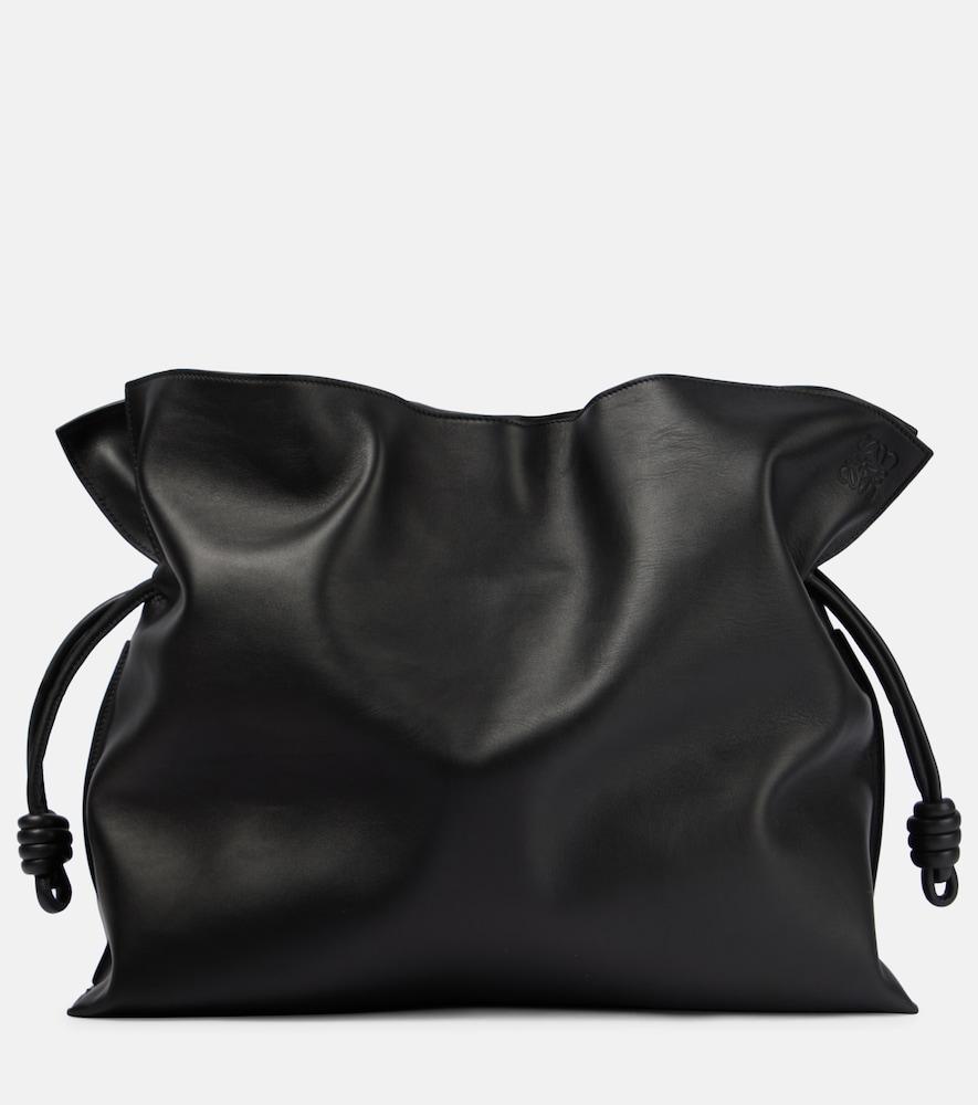 Flamenco Ondas leather shoulder bag