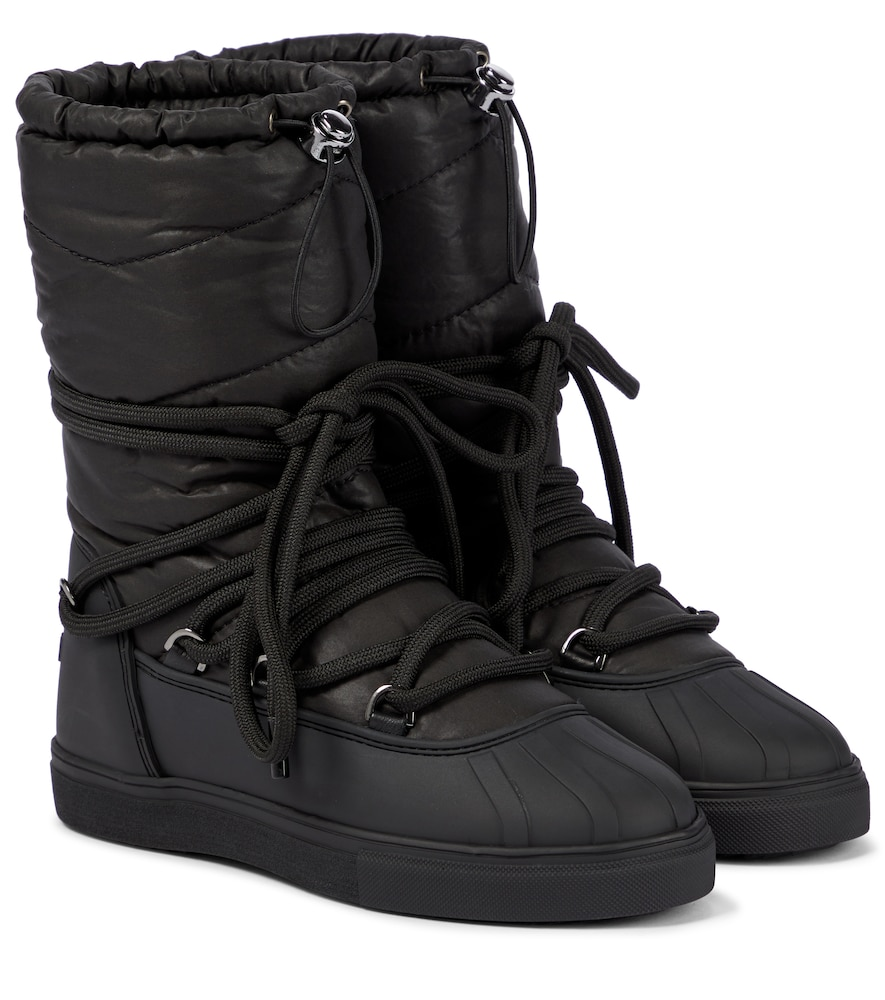 Padded ankle boots
