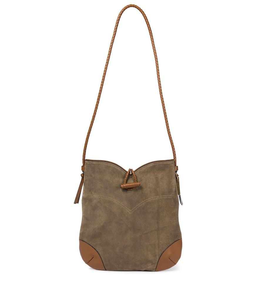 Tyag suede shoulder bag