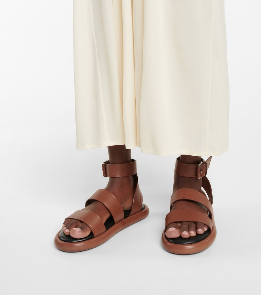 PROENZA SCHOULER Leathers PIPE LEATHER SANDALS