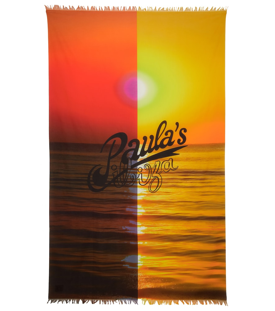 Paula's Ibiza - Foulard imprimé en coton