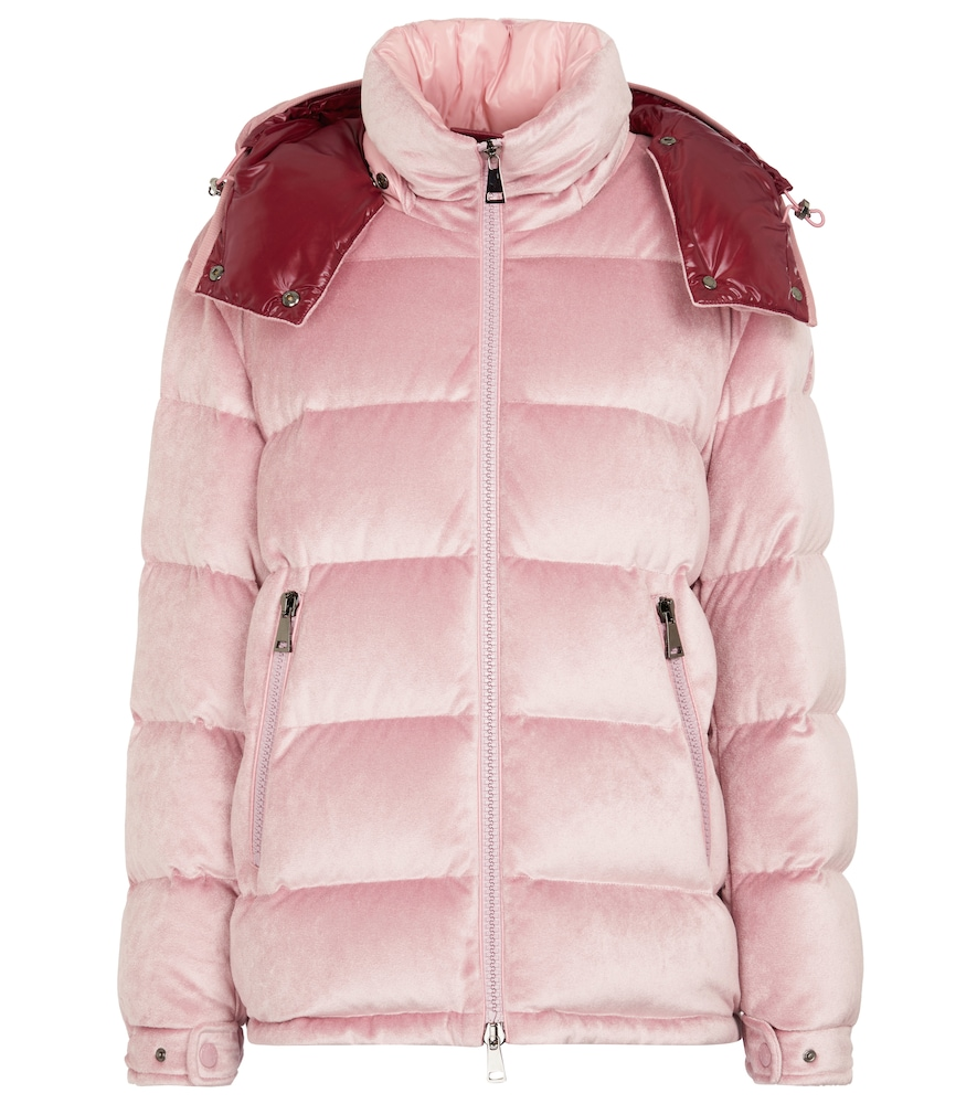 Holostee quilted velvet jacket