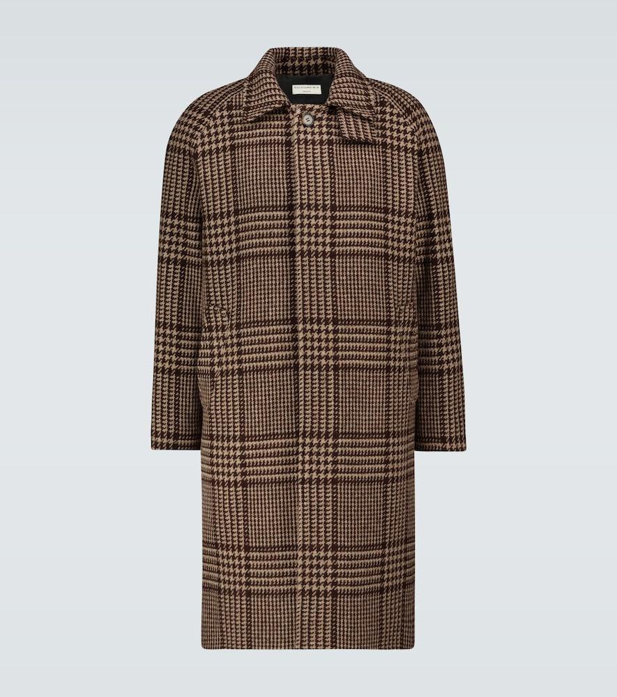 Mac checked hunting coat