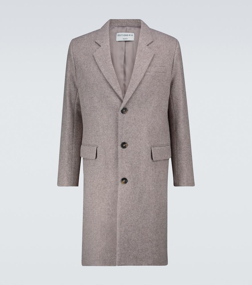 Arthur single-breasted coat