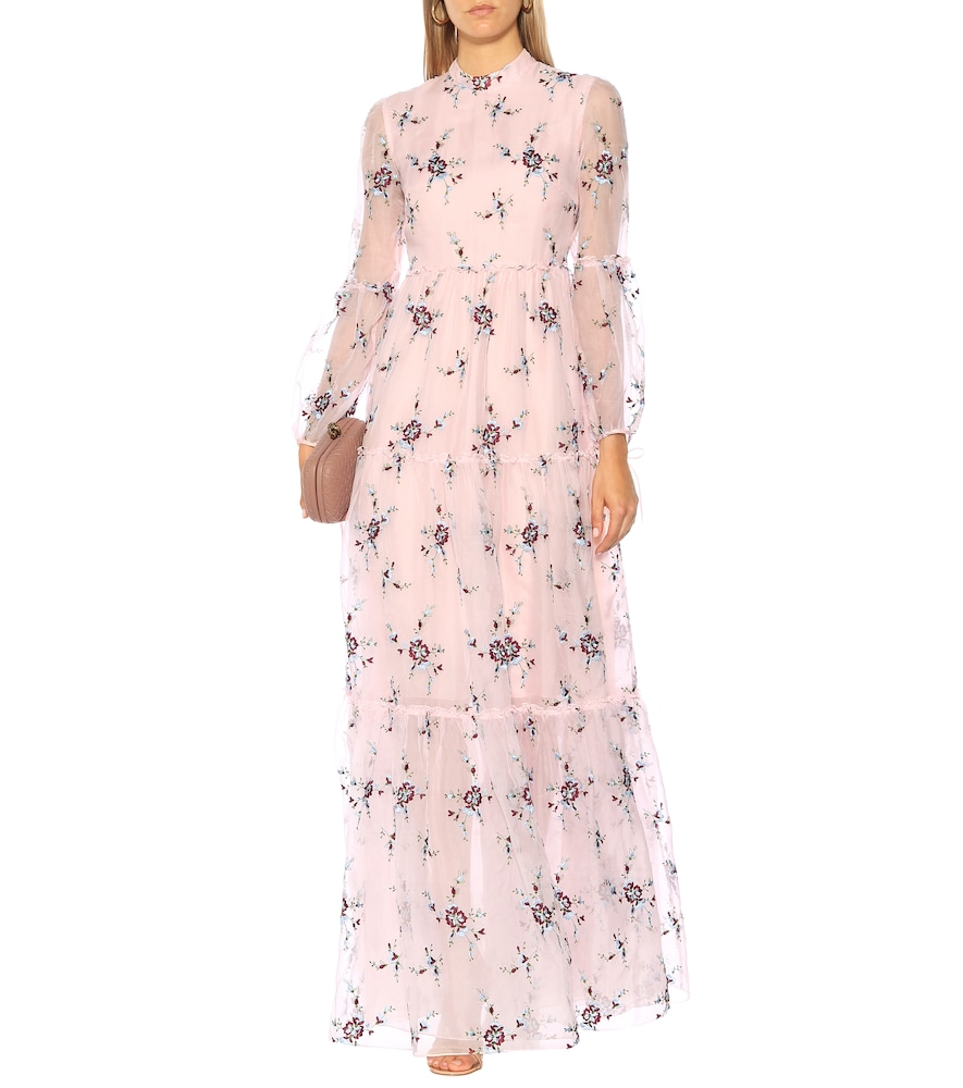 Exclusive to Mytheresa - Cassandra floral organza gown by Erdem