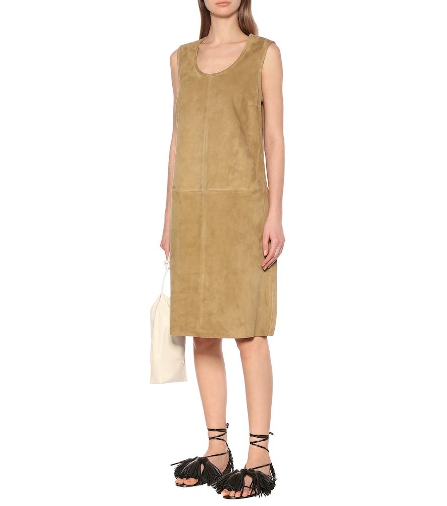 Patty suede shift dress by Joseph