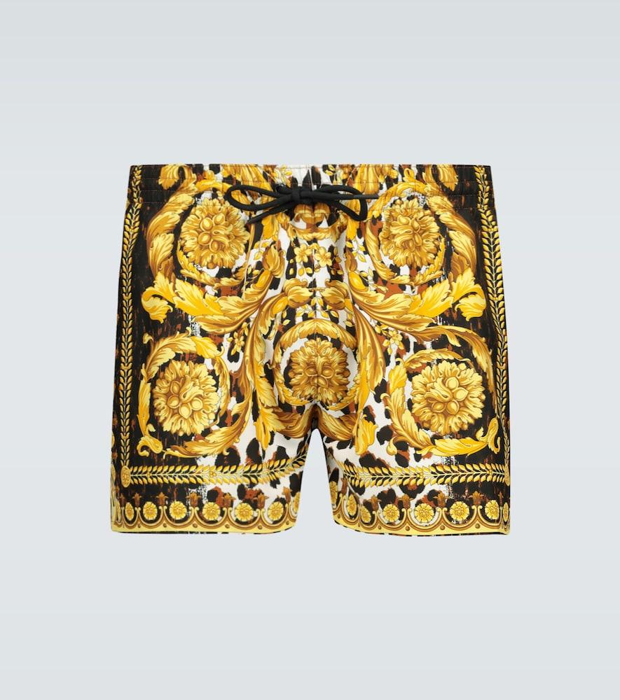 Short de bain à imprimé Baroque - Versace - Modalova