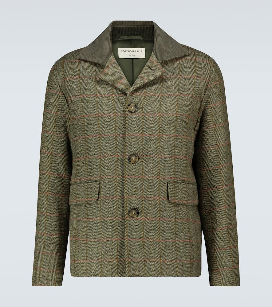 Trek checked jacket