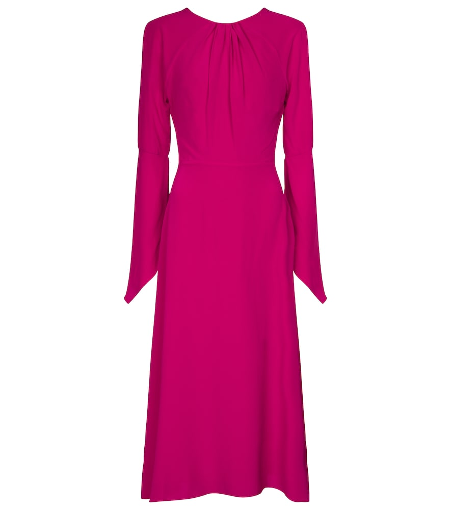 Open-back silk midi dress by Victoria Beckham
