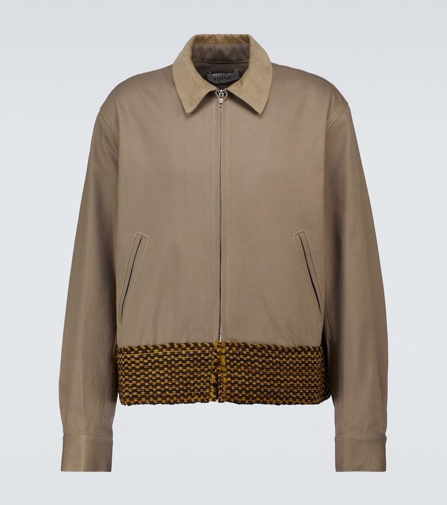 Cotton blouson jacket