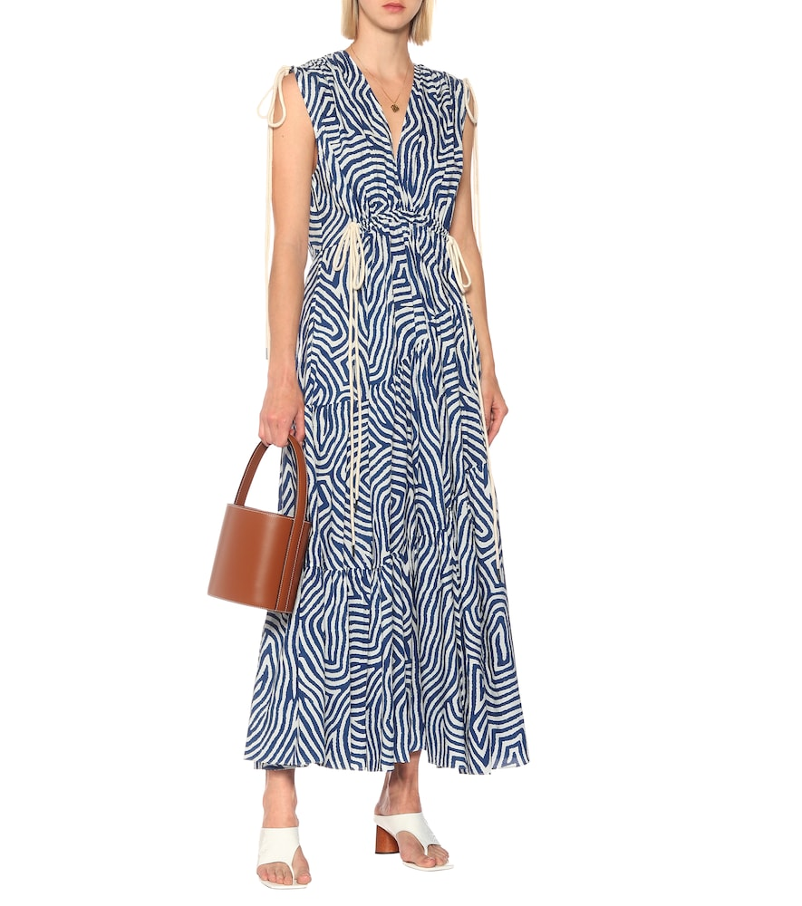 Exclusive to Mytheresa - Ada printed cotton midi dress by Lee Mathews