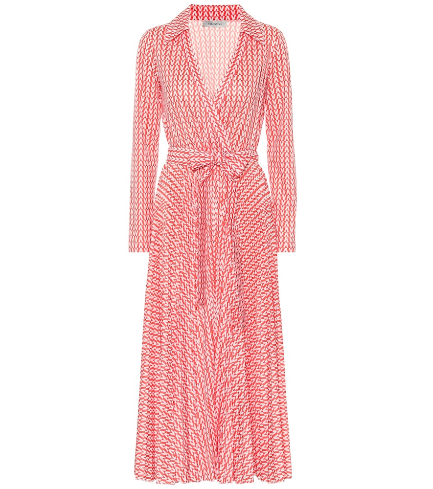 Exclusive to Mytheresa - Valentino printed jersey wrap dress
